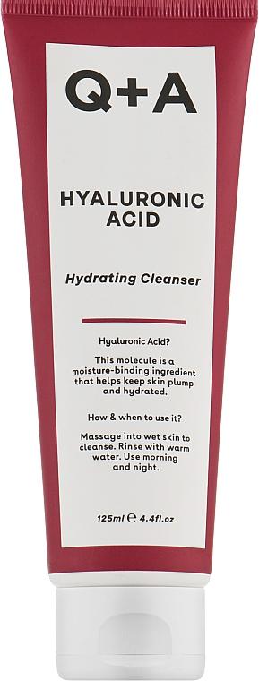 Увлажняющее очищающее средство с гиалуроновой кислотой - Q+A Hyaluronic Acid Hydrating Cleanser