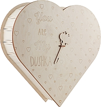 "Парфумерія, косметика Подарункова коробка-серце ""You are my Dushka"", велика - Dushka"