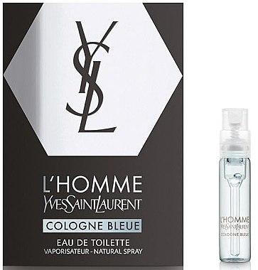 Yves Saint Laurent L'Homme Cologne Bleue - Туалетная вода (пробник)