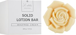 """Духи, Парфюмерия, косметика Натуральный твердый лосьон для тела """"Взбитые сливки"""" - Le Delice Solid Lotion Bar Whipped Cream"""