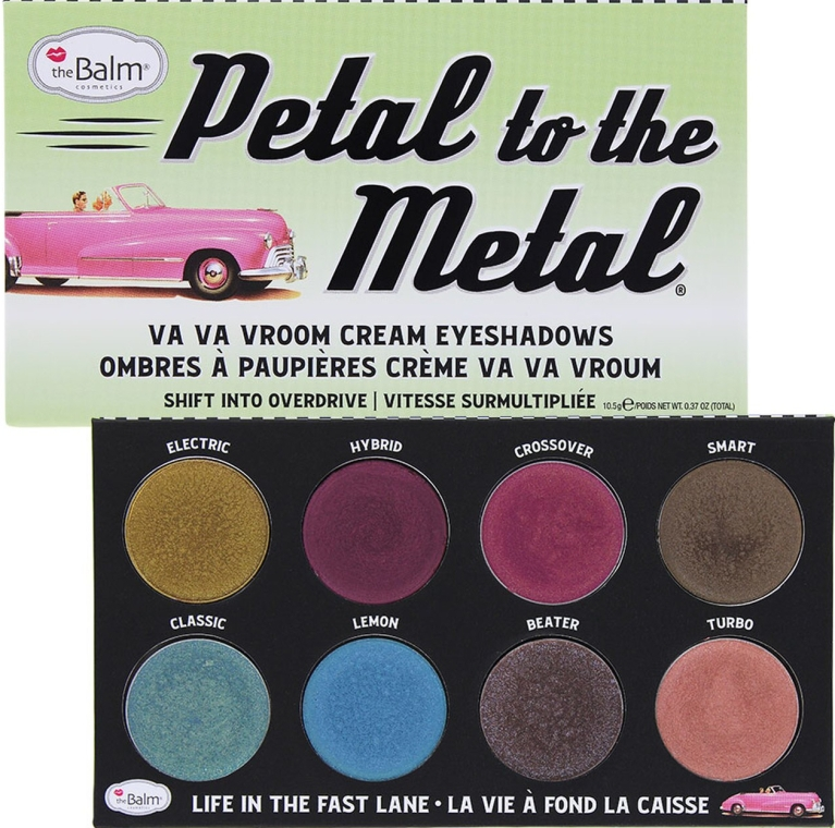 Палетка теней для глаз - theBalm Petal To The Metal Shift Into Overdrive