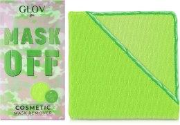 Духи, Парфюмерия, косметика Рукавичка для снятия масок, зеленая - Glov Mask Off