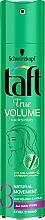 "Духи, Парфюмерия, косметика Лак для волос ""True Volume"", фиксация 3 - Taft True Volume 3"