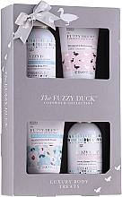 Духи, Парфюмерия, косметика Набор - Baylis & Harding The Fuzzy Duck Cotswold Floral (b/wash/100ml + sh/gel/100ml + b/lot/50ml + h/cream/50ml)