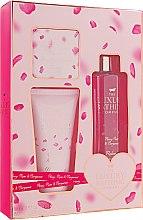 Духи, Парфюмерия, косметика Набор - Grace Cole The Luxury Bathing Peony, Rose & Bergamot (bath/foam/250ml + b/cr/150ml + soap/100g)