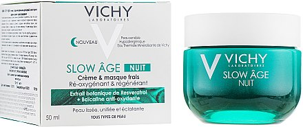 Набор - Vichy Slow Age Set (fluid/50ml + night/mask/50ml + gel/10ml) — фото N3