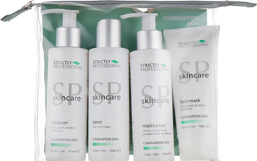 УЦЕНКА Набор для комбинированной кожи - Strictly Professional SP Skincare (cleanser/150ml + toner/150ml + moisturiser/150ml + mask/100ml) * — фото N1