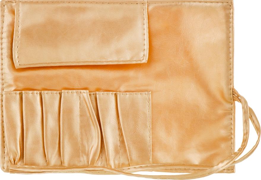 Чехол для кистей, 7шт, золотой - Aise Line Case For MakeUp Brush