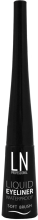 Духи, Парфюмерия, косметика Жидкая подводка для глаз, мягкая кисточка - LN Professional Liquid Waterproof Eyeliner Soft Brush