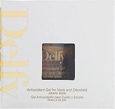 Духи, Парфюмерия, косметика Антиоксидантный гель для шеи и декольте - Delfy Antioxidant Gel For Neck And Decollete