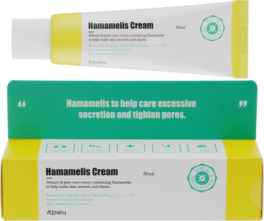 Крем для лица с экстрактом гамамелиса - A'pieu Hamamelis Cream