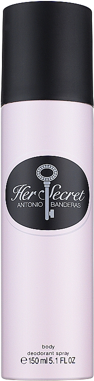 Antonio Banderas Her Secret - Дезодорант