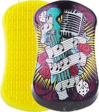 Духи, Парфюмерия, косметика Щетка для волос - Dessata Original Music-Yellow