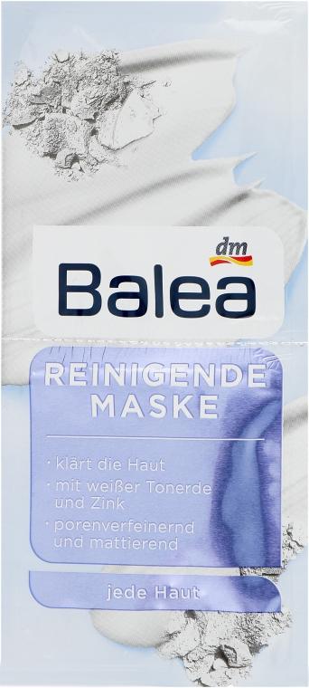 Очищающая маска для лица с белой глиной - Balea White Clay Facial Cleansing Mask