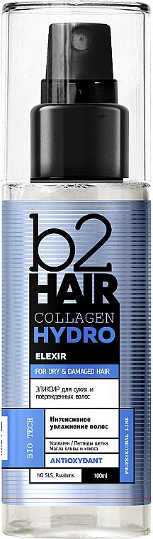 Увлажняющий концентрат для сухих и поврежденных волос - b2Hair Collagen Hydro Spray-Concentrate