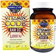 Духи, Парфюмерия, косметика Пищевая добавка - Garden of Life Vitamin Code Raw D3, 50 mcg
