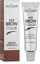 Парфумерія, косметика Фарба для брів і вій - LeviSsime Eye Brow Color