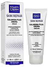 Духи, Парфюмерия, косметика Восстанавливающий успокаивающий крем для лица - MartiDerm Skin Repair Calamina Plus Cream