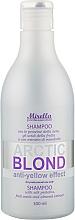 Духи, Парфюмерия, косметика Шампунь с протеинами шелка для светлых, седых и поврежденных волос - Mirella Arctic Blond Anti-Yellow Effect Shampoo