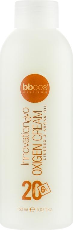 Окислитель кремообразный 6 % - BBcos InnovationEvo Oxigen Cream 20 Vol