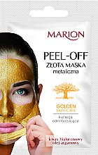 Духи, Парфюмерия, косметика Маска для лица - Marion Golden Skin Care Peel-Off Mask