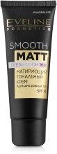 Парфумерія, косметика Тональний крем з ефектом матування - Eveline Cosmetics Smooth Matt SPF10