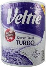 """Духи, Парфюмерия, косметика Полотенце бумажное """"Turbo"""", трехслойное, белое - Veltie"""