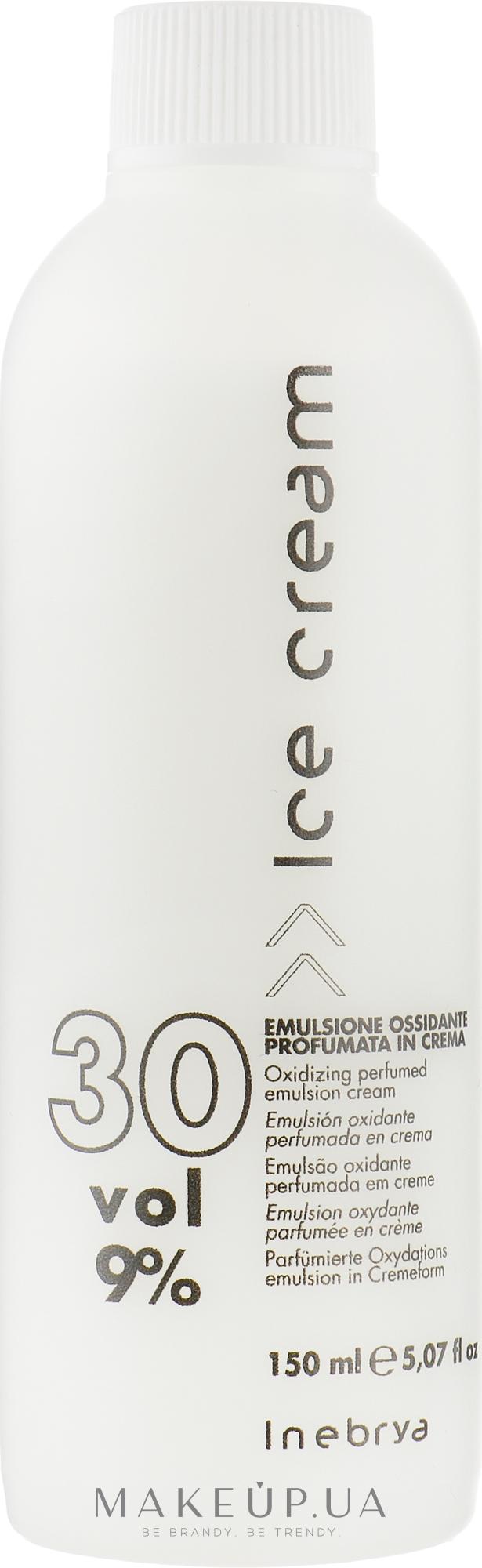 Окислительная эмульсия для волос 9% - Inebrya Hydrogen Peroxide — фото 150ml