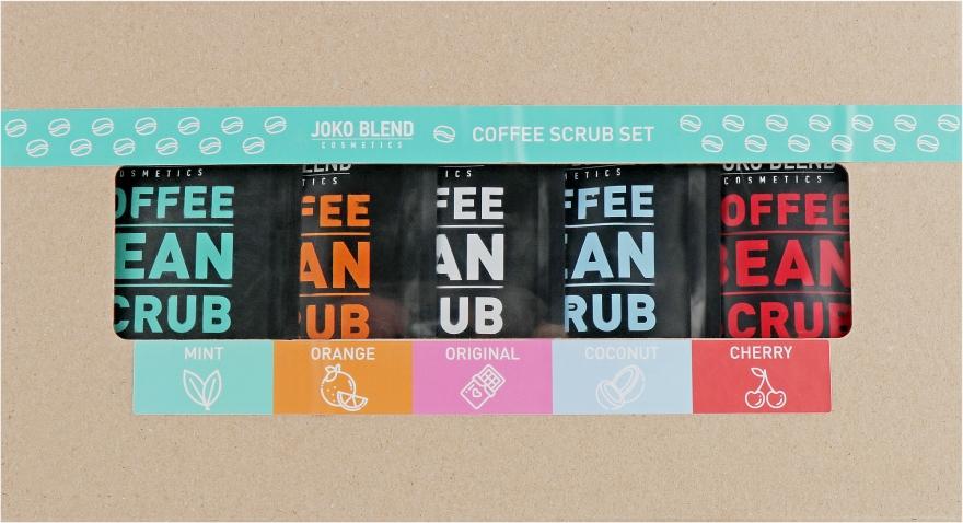 Набор - Joko Blend Coffee Set (scrub/5x50g)