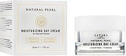 Духи, Парфюмерия, косметика Увлажняющий дневной крем для всех типов кожи - Satara Natural Pearl Moisturizing Day Cream
