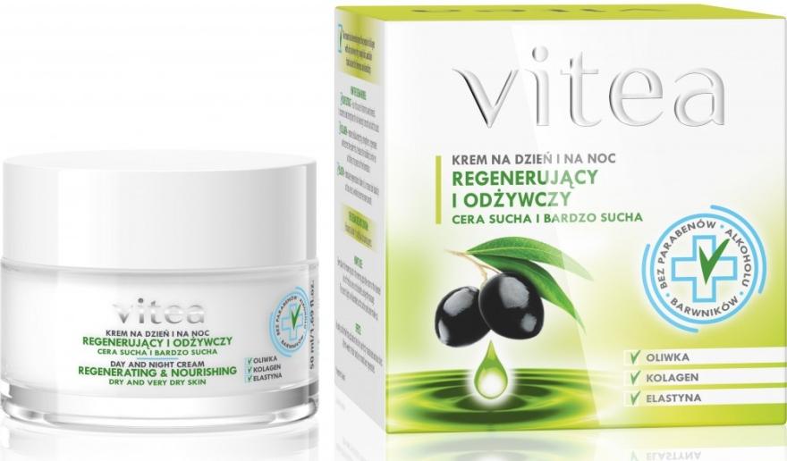 """Крем для лица """"Регенерирующий и питательный"""" - Vitea Regenerating and Nourishing Face Cream"""