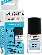 "Духи, Парфюмерия, косметика Укрепляющий препарат, 9в1 ""Здоровые ногти"" - Ines Cosmetics Nail Medic+ Professional"