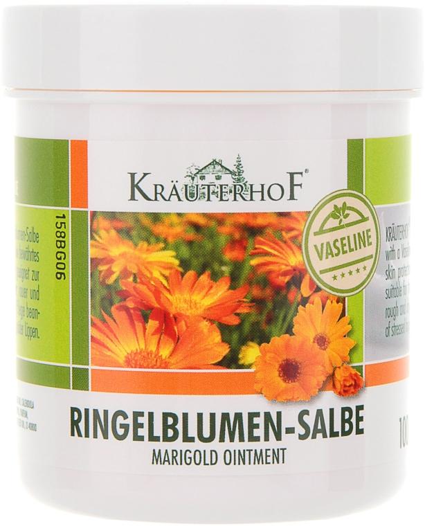 Мазь с календулой на основе вазелина - Krauterhof Marigold Ointment