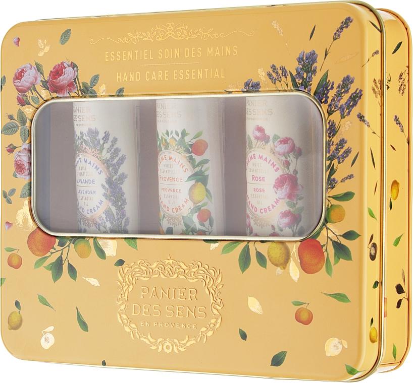 """Подарочный набор """"Эссеншелс"""" - Panier Des Sens The Essentials Box (h/cream/3x30ml)"""