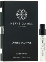 Духи, Парфюмерия, косметика Herve Gambs Ombre Sauvage - Парфюмированная вода (пробник)
