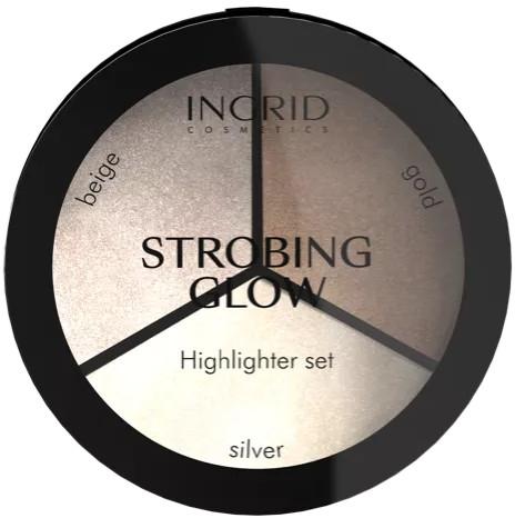 Пудровая палитра - Ingrid Cosmetics Strobing Glow Highlighter Set