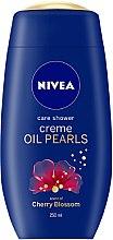 """Духи, Парфюмерия, косметика Крем-гель для душа """"Цветущая вишня"""" - Nivea Care Shower Oil Pearls"""