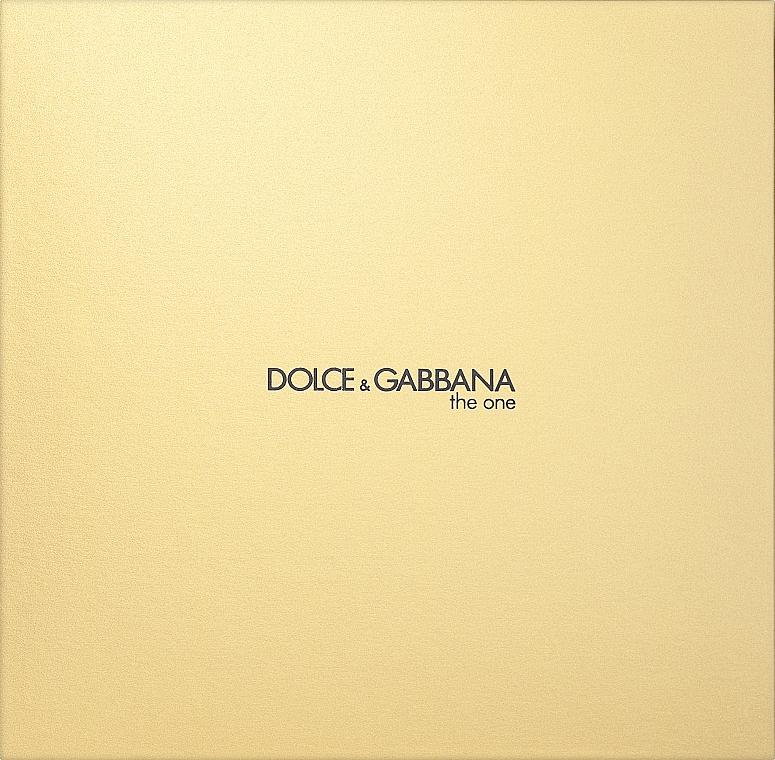 Dolce&Gabbana The One - Набор (edp 75 + b/l 100 + sh/g 100)