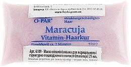 """Духи, Парфюмерия, косметика Маска витаминизированная для нормальных и поврежденных волос """"Маракуйя"""" - Swiss-o-Par"""