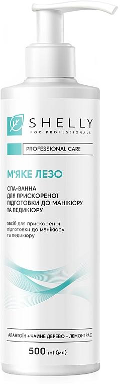 """Спа-ванна для ускоренной подготовки к маникюру и педикюру """"Мягкое лезвие"""" - Shelly Professional Care"""