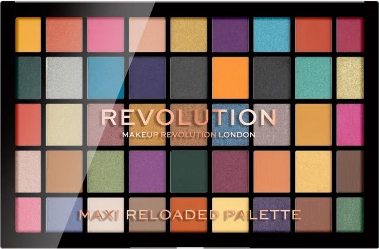 Палетка теней для век, 45 оттенков - Makeup Revolution Maxi Reloaded Palette