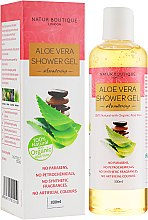 Духи, Парфюмерия, косметика Натуральный гель для душа с органическим алоэ вера - Natur Boutique Aloe Vera Shower Gel Awakening