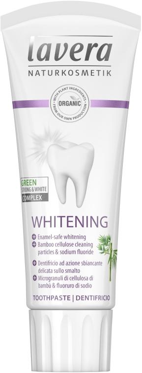 Зубная паста отбеливающая - Lavera Whitening Toothpaste