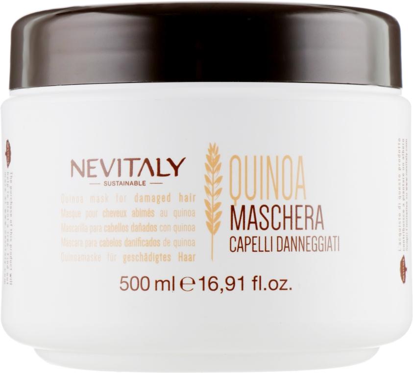 Маска с экстрактом органического киноа для поврежденных волос - Nevitaly