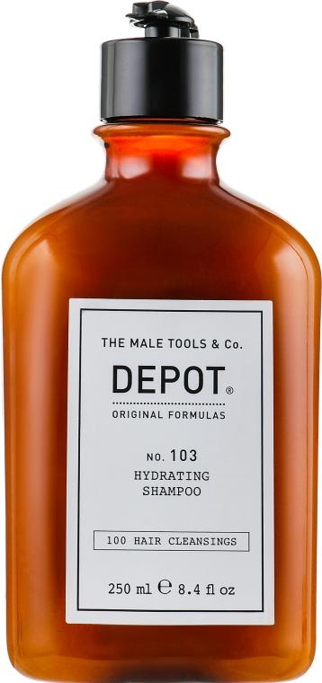 Шампунь, увлажняющий, для сухих и ломких волос - Depot Hair Cleansings 103 Hydrating Shampoo