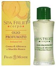 Духи, Парфюмерия, косметика Frais Monde Spa Fruit Apricot And White Musk Perfumed Oil - Парфюмированное масло