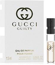 Духи, Парфюмерия, косметика Gucci Guilty Eau de Parfum Pour Femme - Парфюмированная вода (пробник)