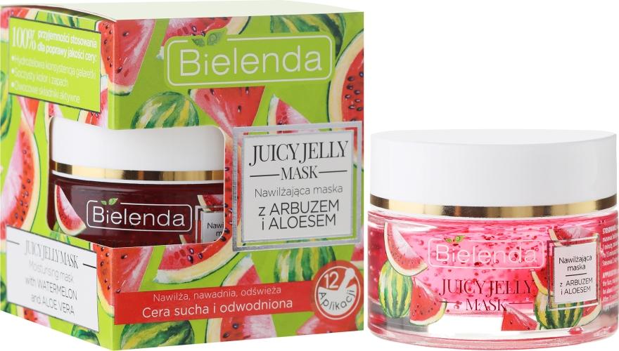 Увлажняющая маска с арбузом и алоэ вера - Bielenda Juicy Jelly Mask