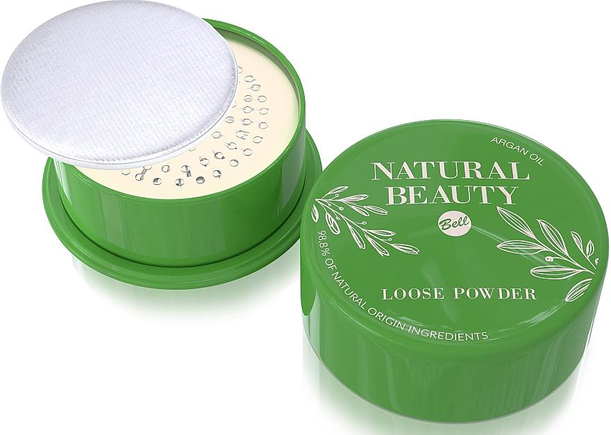Рассыпчатая пудра для лица - Bell Natural Beauty Loose Powder