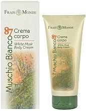 Духи, Парфюмерия, косметика Frais Monde Muschio Bianco 87 White Musk Body Cream - Крем для тела